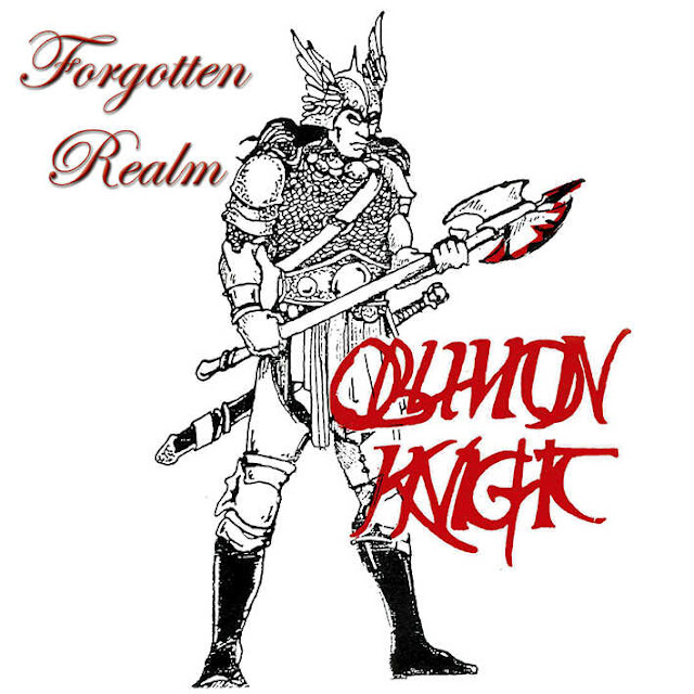 """Ο δίσκος των Oblivion Knight """"Forgotten Realm"""""""