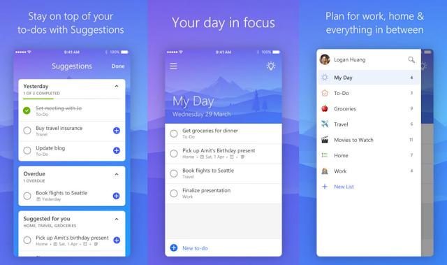 تحديث Microsoft To Do لنظام التشغيل iOS يجلب دعم Face ID والمزيد