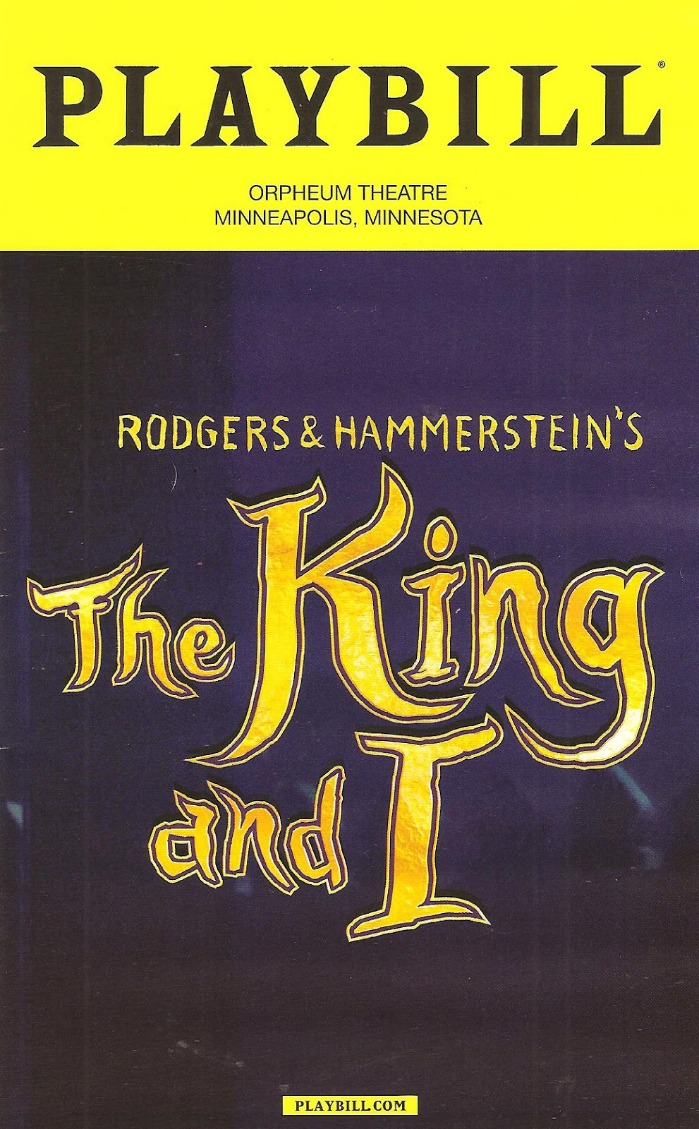 """Cherry And Spoon: """"The King And I"""" Broadway Tour At The"""