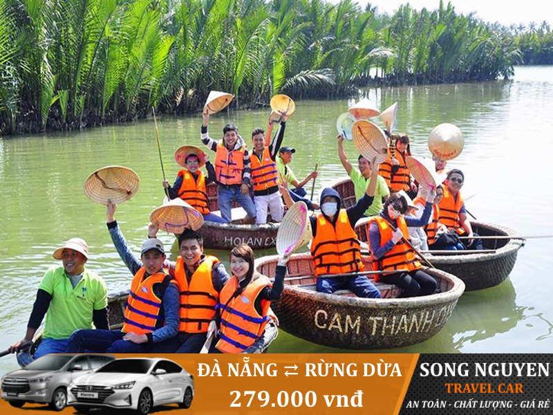 Thuê xe ô tô đi Rừng dừa Hội An