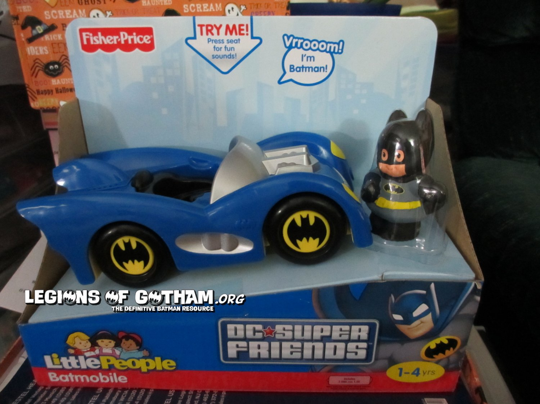 New Fisher Price Little People Batmobile W Batman