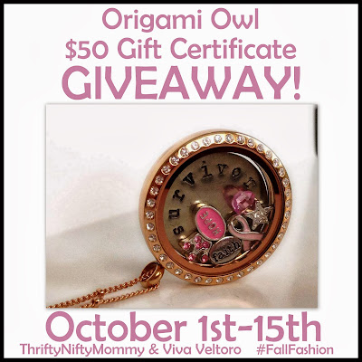 Origami Owl with April Slipsager #FallFashion