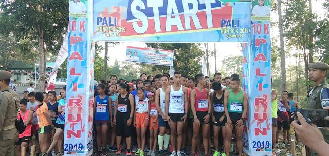 PALI Run 10 K se- Sumatera Rebutkan Total Hadia 116 Juta