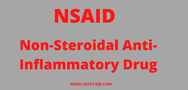 NSAID full form, What is the full form of NSAID