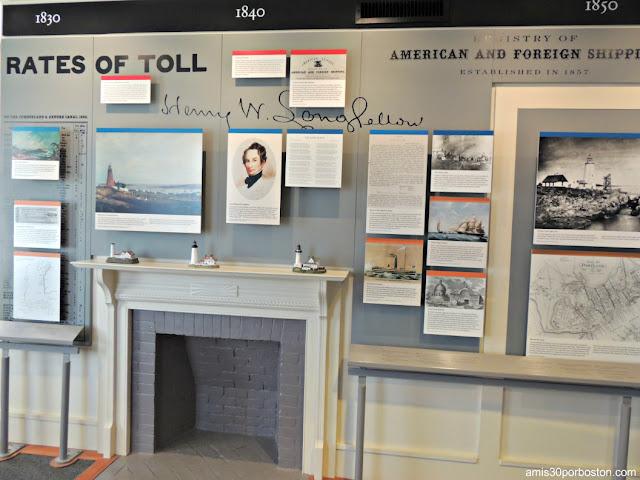 Henry Wadsworth Longfellow en el Museo del Faro