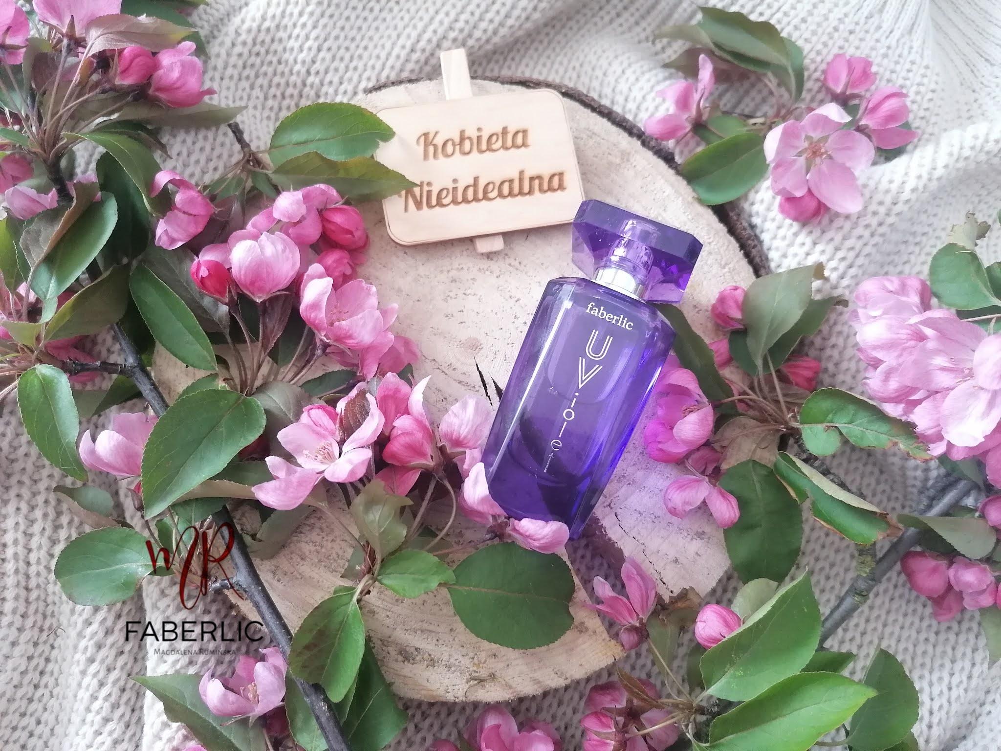 woda perfumowana u-violet faberlic