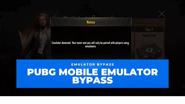 pubg emulator bypass