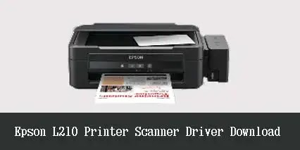 Epson L210 Printer Scanner Driver (Free Download)