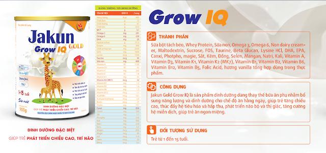 JaKun Gold Grow IQ
