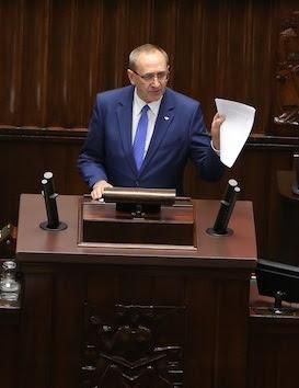 Jacek Bogucki w Sejmie RP