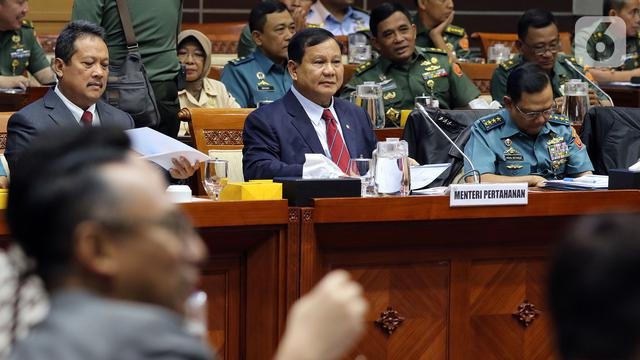 Prabowo Heran Rapat di Komisi I Tidak seperti Era Ryamizard dan Purnomo
