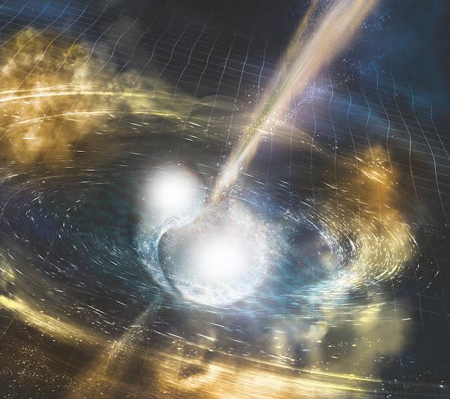 Star mergers: A new test of gravity, dark energy theories