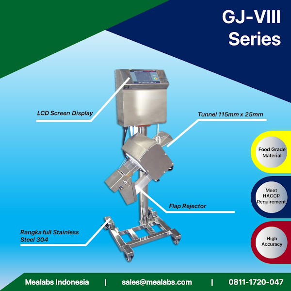GJ-VIII Series Pharmaceutical Metal Detector
