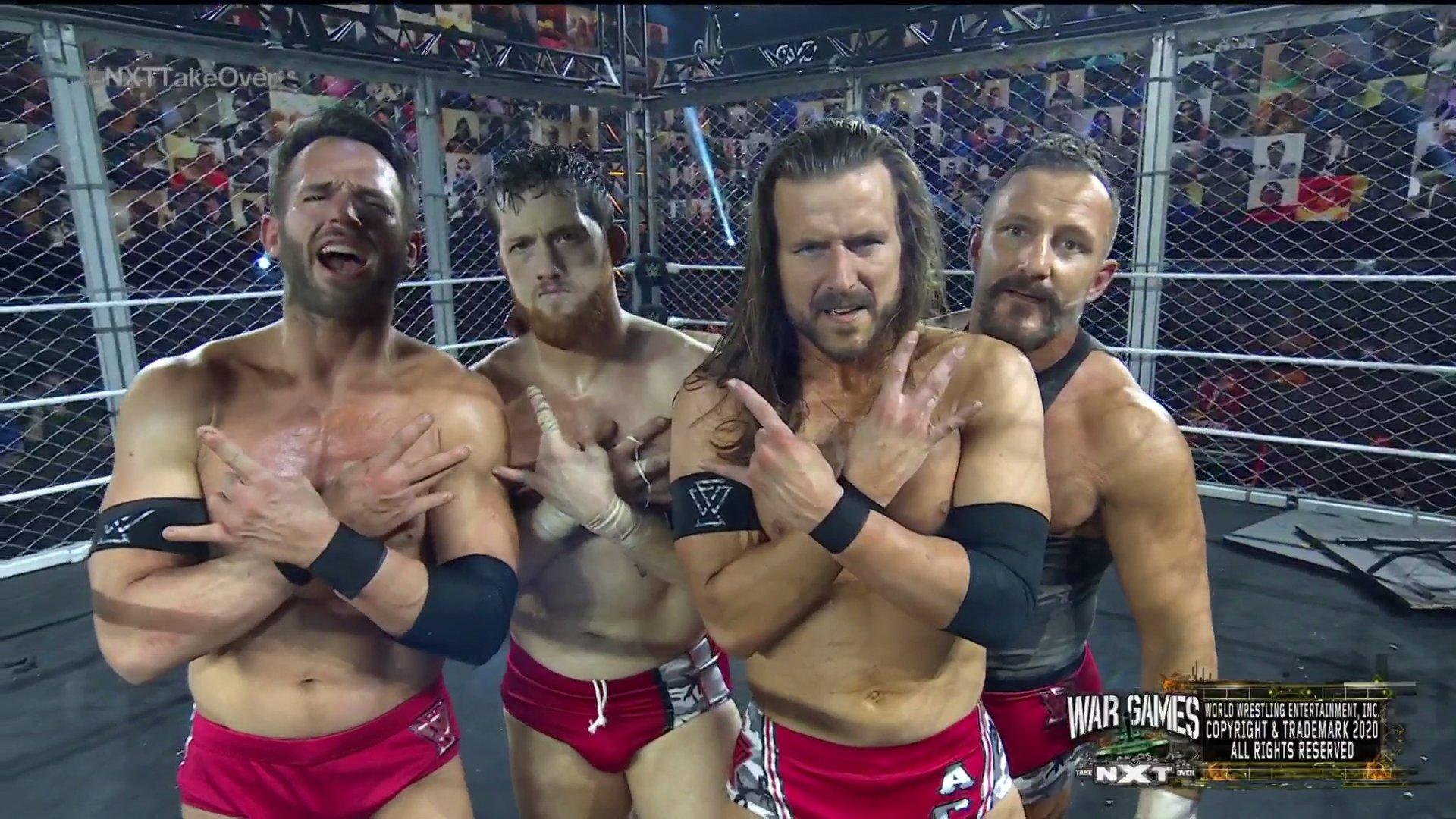 Undisputed Era mostra sua força e vence no evento principal do NXT TakeOver: WarGames