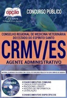 Baixar Apostila Concurso CRMV ES 2018 PDF Download