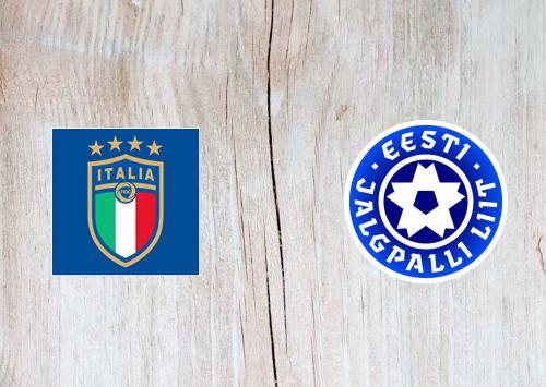 Italy vs Estonia -Highlights 11 November 2020