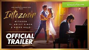 Intezaar arijit singh song lyrics in hindi and English rjnewlyrics