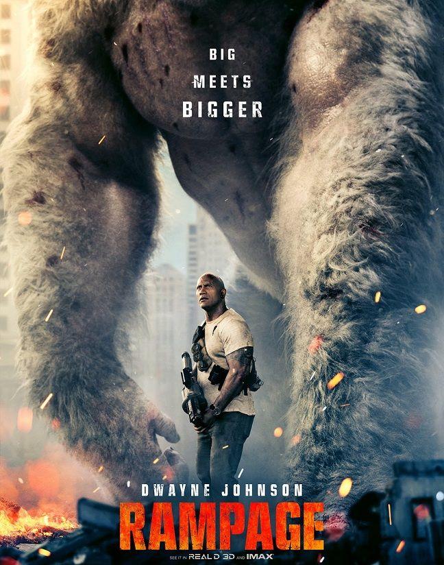 IMDB بالعربي شاهد النجم دواين جونسون في فيلم ثورة Rampage
