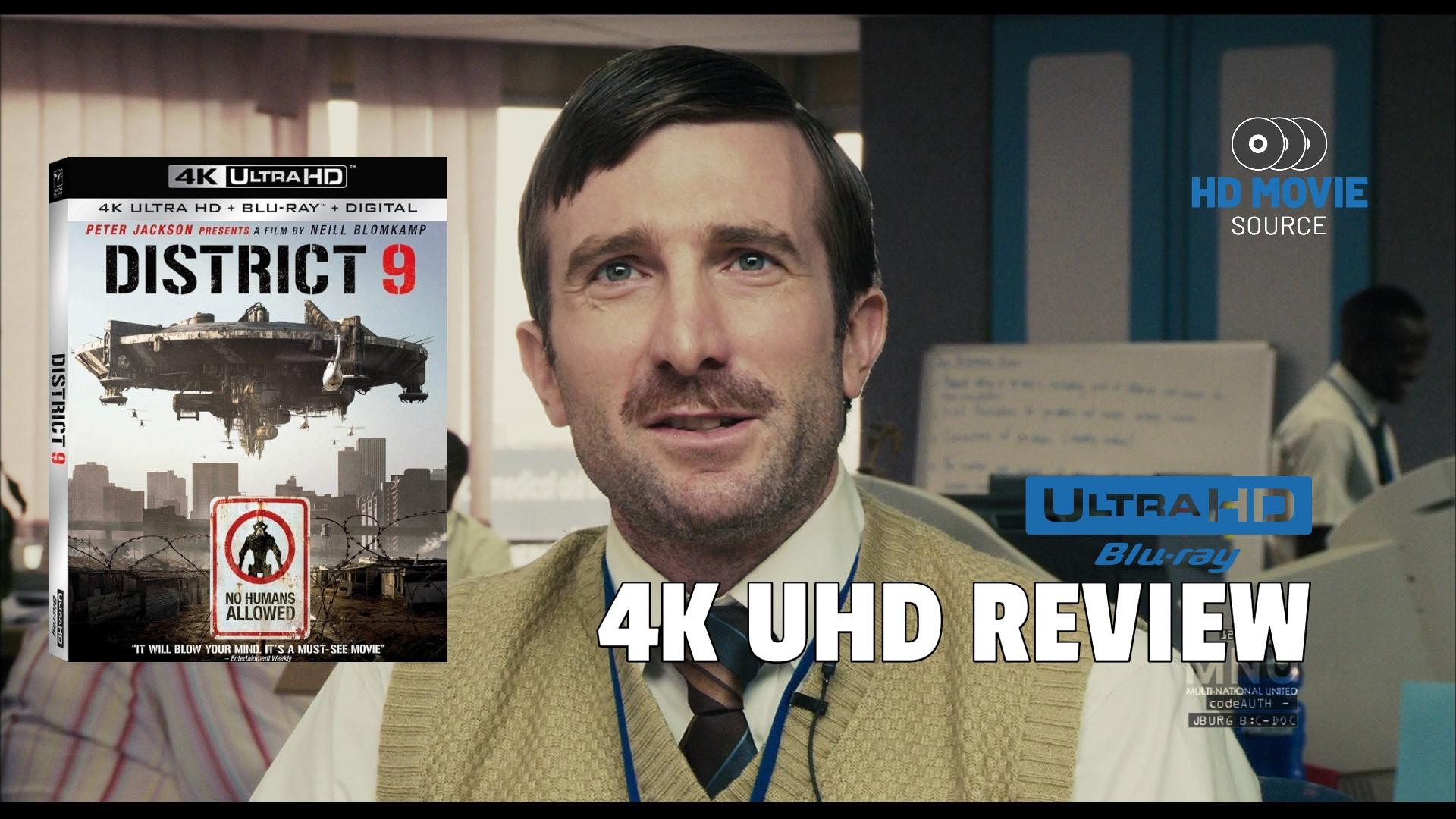 District 9 2009 4k Uhd Blu Ray Review The Basics