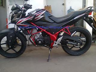 Gambar Modifikasi Motor CB150R