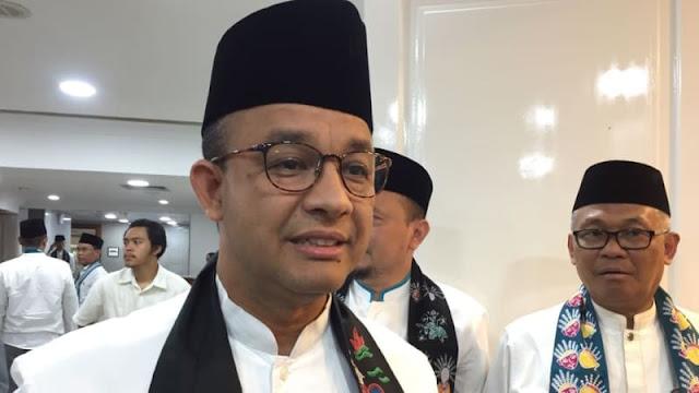 Anies Tak Mau Perpanjang Soal Video Hoaks Lapangan Banteng