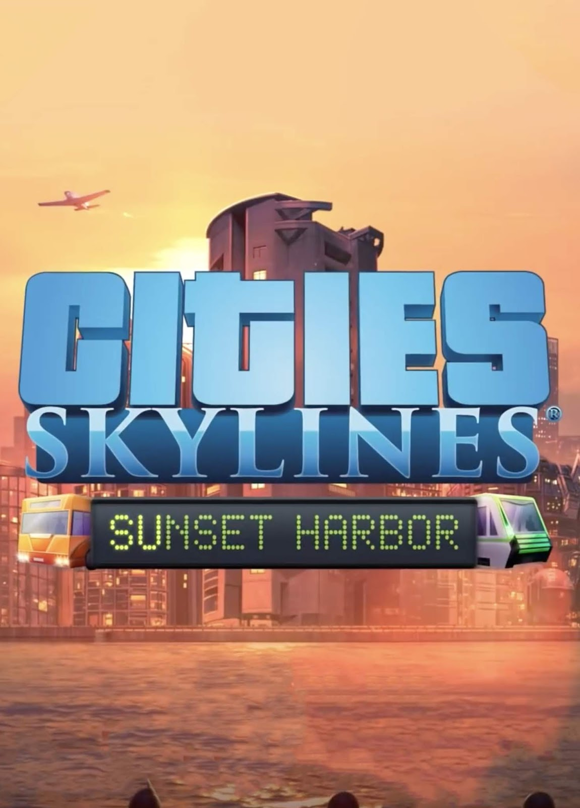 Descargar Cities Skylines Sunset Harbor PC Cover Caratula
