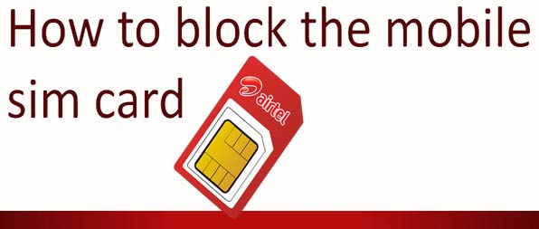 how to deactivate airtel sim card prepaid online