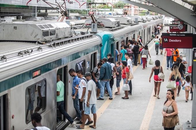 Supervia retira de circulação 40 trens a partir dessa segunda 18/11. Passageiros precisam ficar atentos aos intervalos.