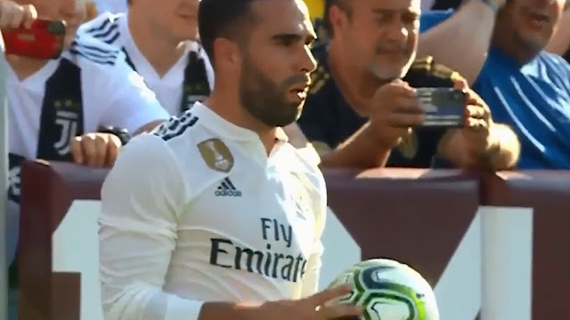 Carvajal miss the face of Mallorca in La Liga