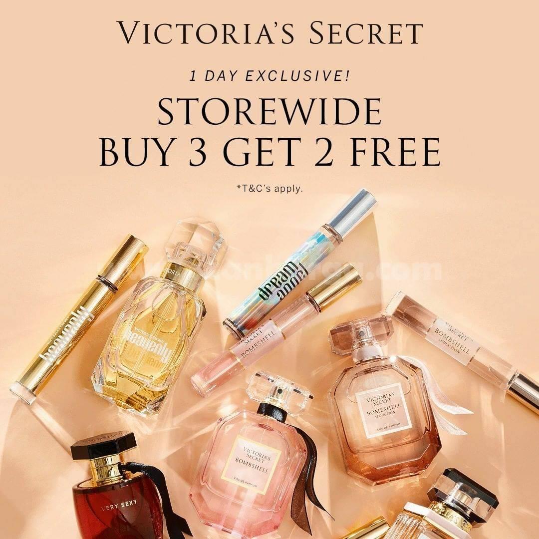 VICTORIA'S SECRET Promo 11.11 – Buy 3 Get 2 Free