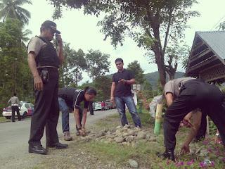 2 Peleton Personil Polres Luwu Siap Bantu Eksekusi Lahan Sampoddo