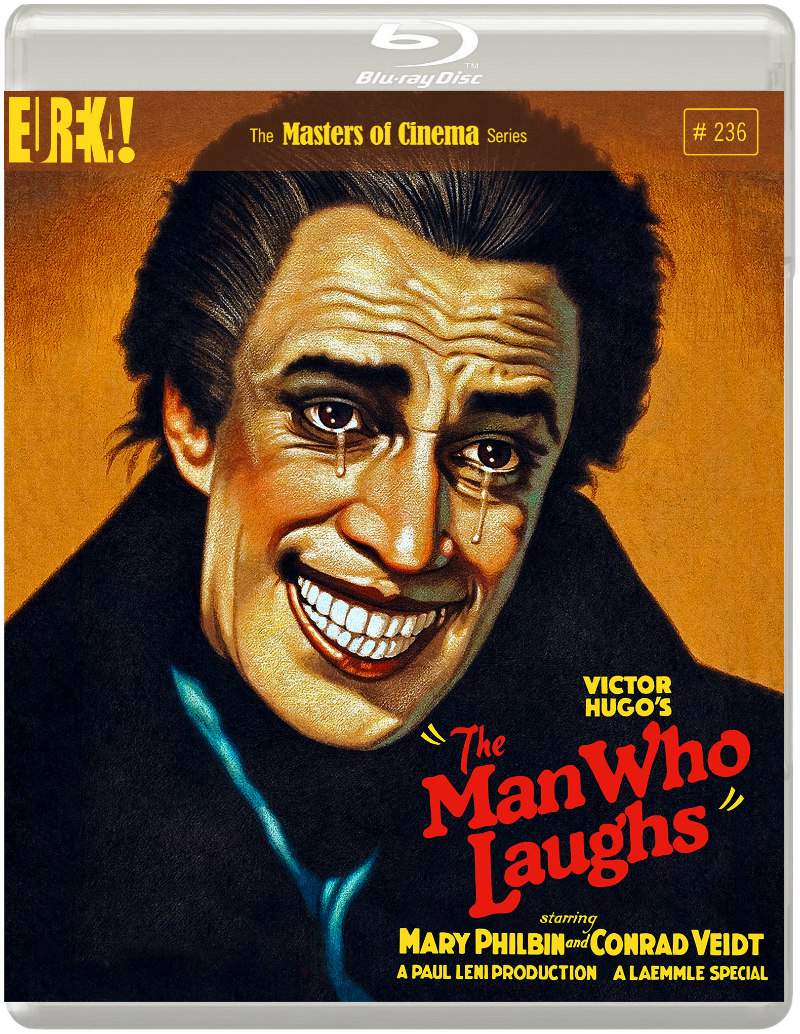The Man Who Laughs bluray
