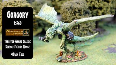 TSF60 Gorgory giant lizardman classic model released