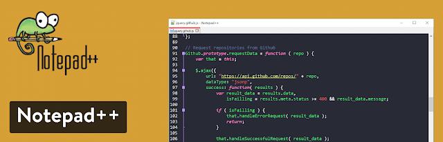 contoh text editor