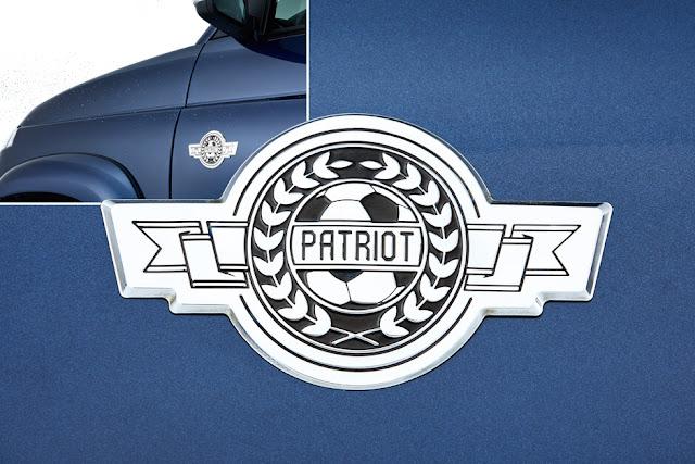 УАЗ выпустил ограниченную футбольную версию УАЗ «Патриот»