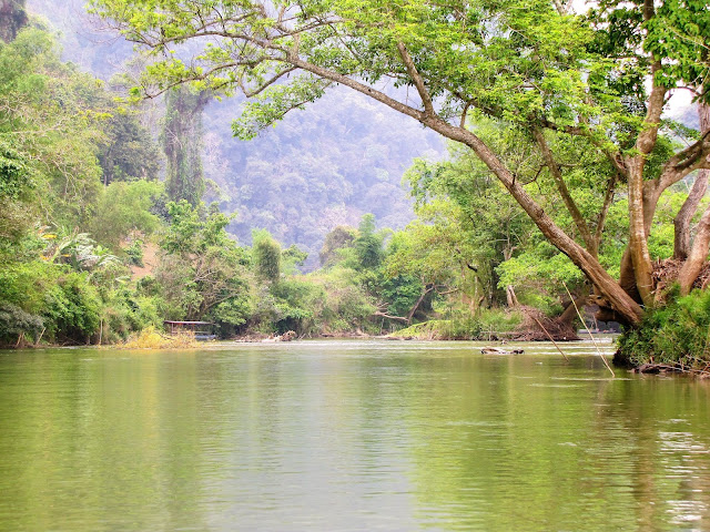 nang river ba be national park vietnam