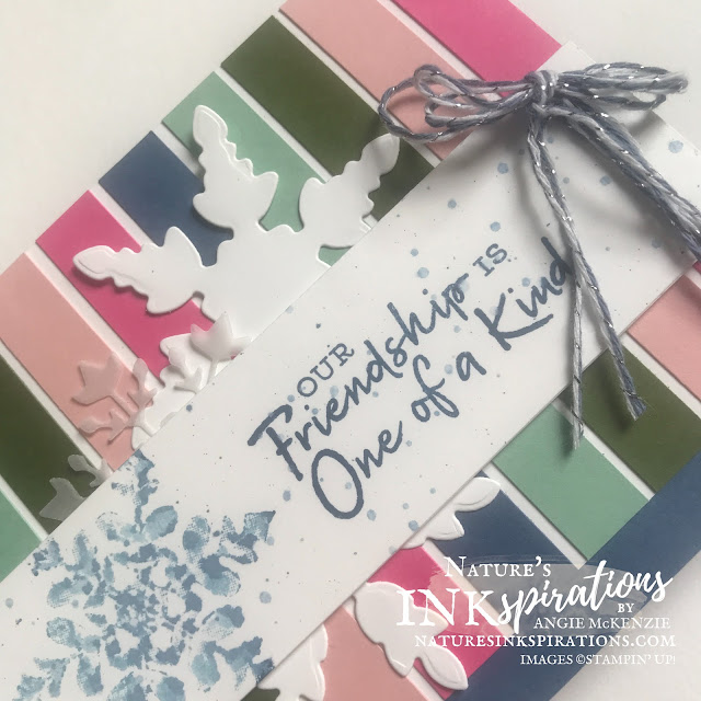By Angie McKenzie for Stamping INKspirations Blog Hop; Click READ or VISIT to go to my blog for details! Featuring the Snowflake Wishes Photopolymer Stamp Set and So Many Snowflakes Dies by Stampin' Up!® to create a Christmas card; #christmascards #stampinginkspirationsbloghop #naturesinkspirations #snowflakewishes #somanysnowflakes #christmasinjuly #snow #handmadecards #watercoloringstamps #prettyenvelopes  #simplestamping