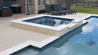 Custom Geometic Inground Pool Builder DFW  9
