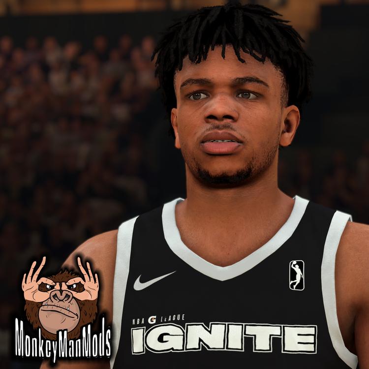 NBA 2K22 Jaden Hardy Cyberface and BOdy Model By Monkeymanjsv