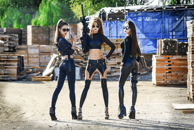 Lee Eun Seo, Park Hyun Sun, Yoo Ha Na