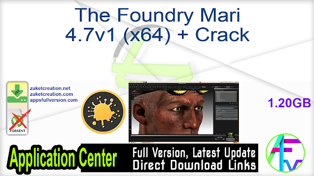 The Foundry Mari 4.7v1 (x64) + Crack