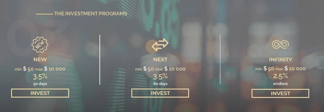 Инвестиционные планы Top Income 2
