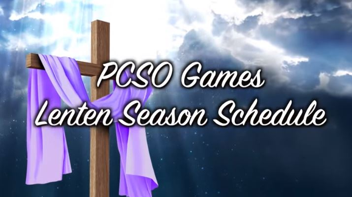 PCSO lotto, STL Holy Week 2021 draw schedule