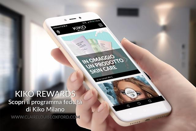 Kiko Rewards Card, scopri l'app Kiko il programma fedeltà