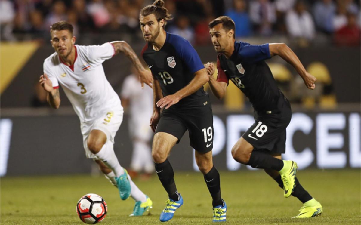Estados Unidos golea a Costa Rica