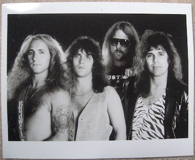 Band photo used for the re-released version