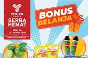 Brosur Katalog Promo Toserba Yogya 3 - 16 April 2020