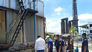 Sektor 7 Satgas Citarum Dampingi DLH Kab. Bandung Dan Team DIT Tipiter Mabes Polri Adakan  Pemeriksaan Ketaatan Pengelolaan Lingkungan