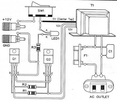 Micro inverter circuit dc voltage ac 12v x110v circuit diagram ccuart Gallery