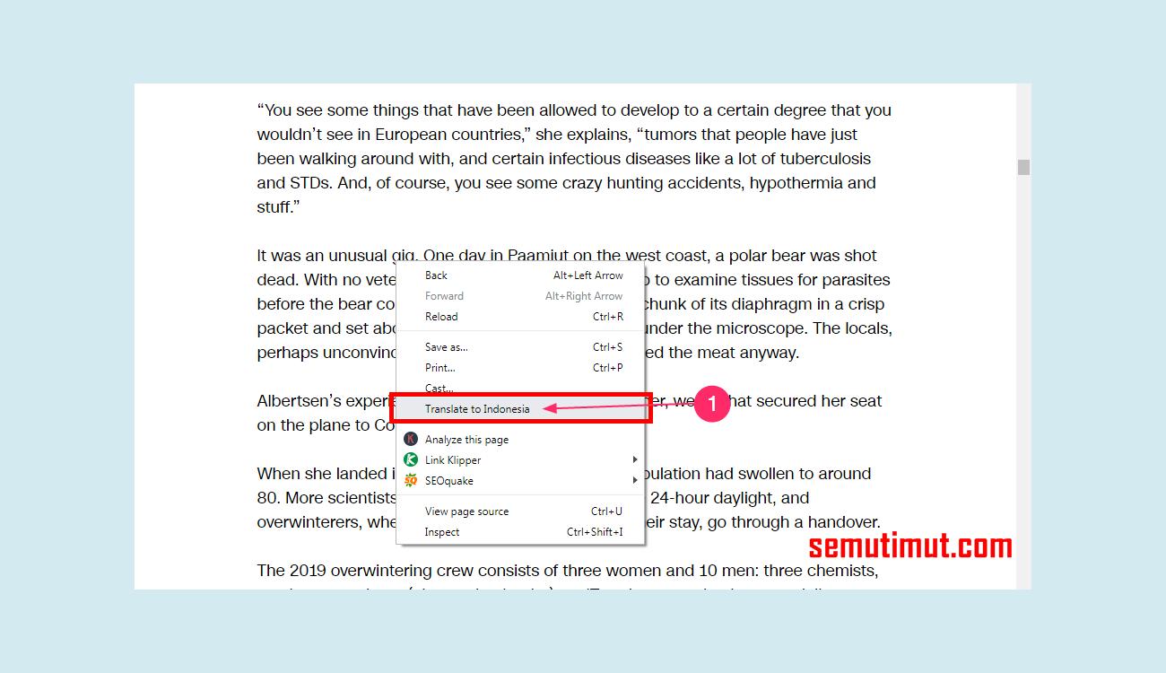 Cara Mengaktifkan Auto Translate Di Google Chrome PC & HP